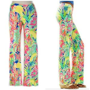 LILLY PULITZER Georgia May Soft Palazzo Pants